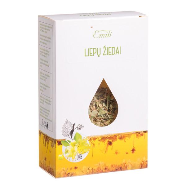 EMILI LIEPŲ ŽIEDAI, žolelių arbata, 20 g paveikslėlis
