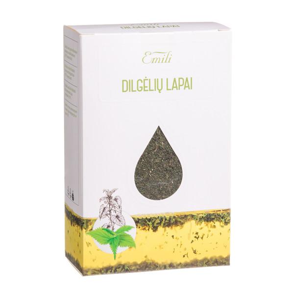 EMILI DILGĖLIŲ LAPAI, žolelių arbata, 40 g paveikslėlis