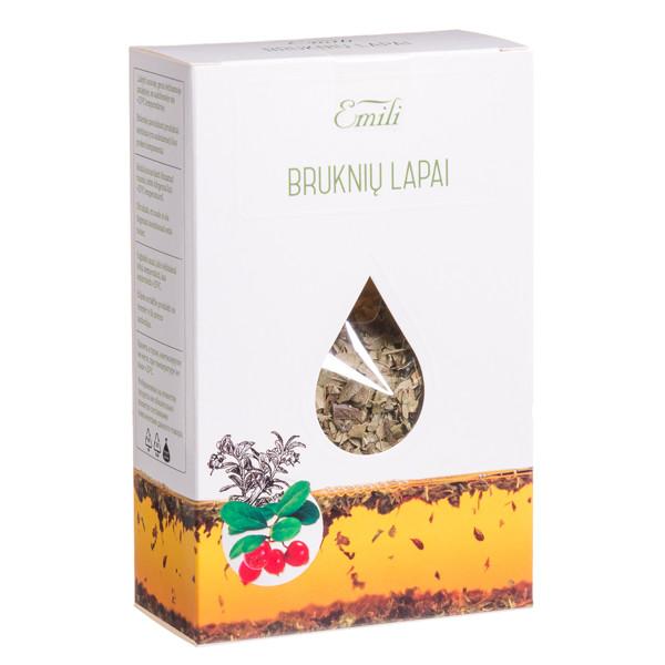 EMILI BRUKNIŲ LAPAI, žolelių arbata, 40 g paveikslėlis