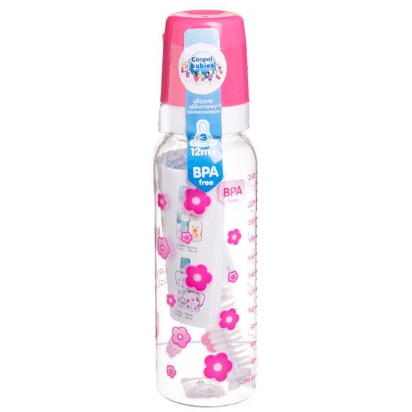 CANPOL BABIES, plastikinis buteliukas, 11/810, 250 ml paveikslėlis
