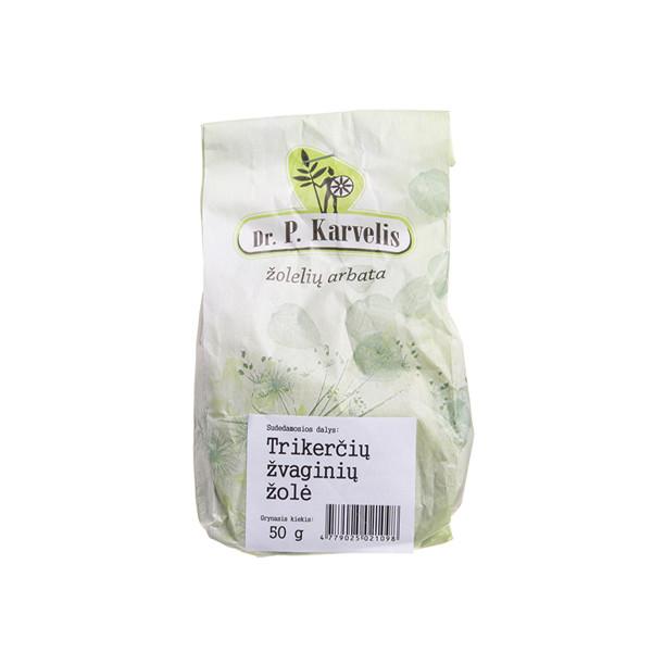 DR. P. KARVELIS TRIKERČIŲ ŽVAGINIŲ ŽOLĖ, žolelių arbata, 50 g paveikslėlis