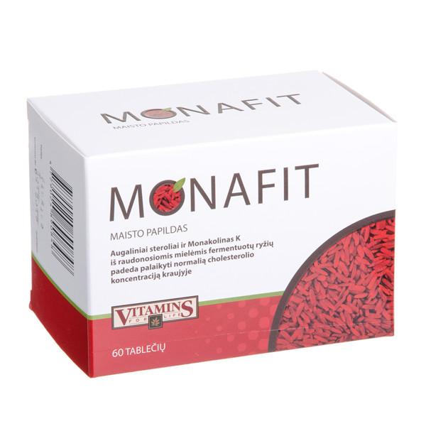 VITAMINS FOR LIFE MONAFIT, 60 tablečių paveikslėlis