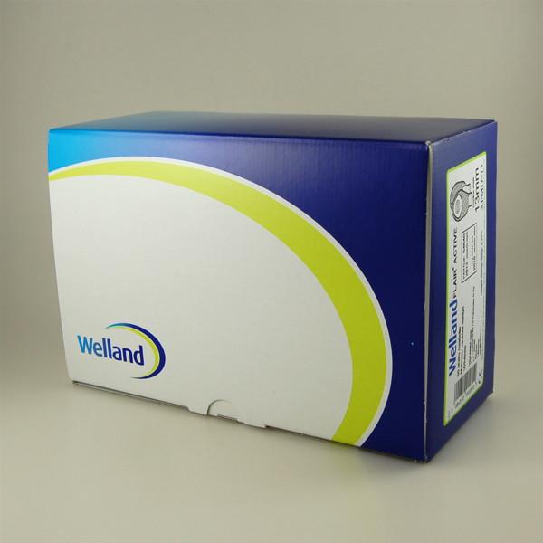 WELLAND FLAIR ACTIVE, išmatų rinktuvų maišeliai, atviri, lygūs, 1 dalies su filtru, matiniai, vidutinio iškirpimo anga, 13/50 mm, 30 vnt. paveikslėlis
