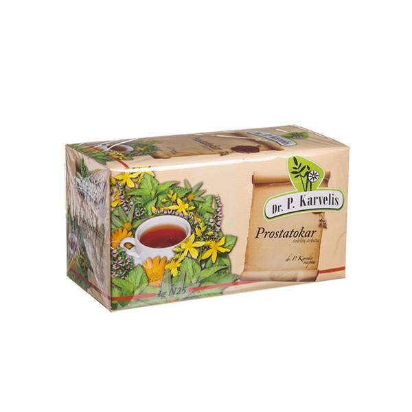 DR. P. KARVELIS PROSTATOKAR, žolelių arbata, 1 g, 25 vnt. paveikslėlis