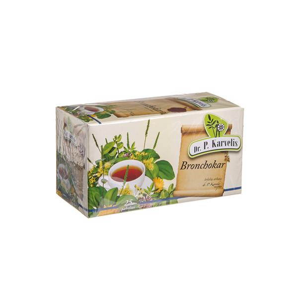 DR. P. KARVELIS BRONCHOKAR, žolelių arbata, 1 g, 25 vnt. paveikslėlis