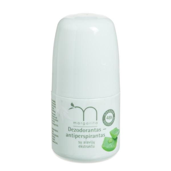 MARGARITA, dezodorantas su alavijų ekstraktu, 50 ml paveikslėlis