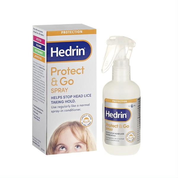 HEDRIN PROTECT&GO, purškalas nuo utėlių, 250 ml paveikslėlis