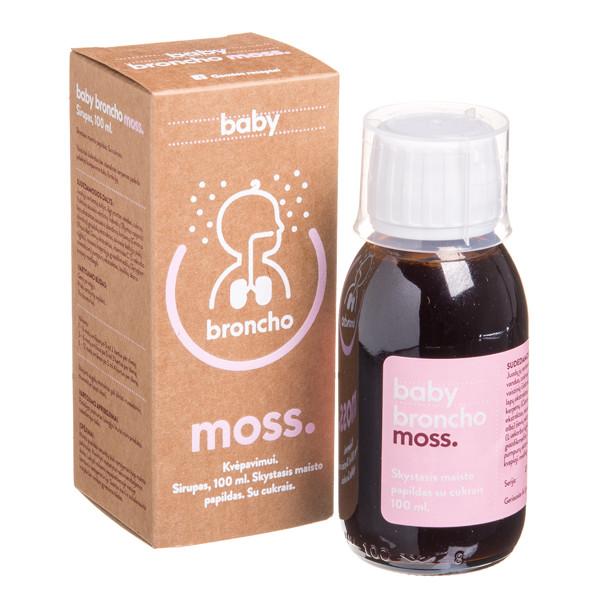 BRONCHOMOSS BABY, sirupas, 100 ml paveikslėlis