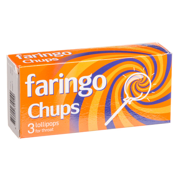 FARINGO CHUPS, 3 ledinukai paveikslėlis