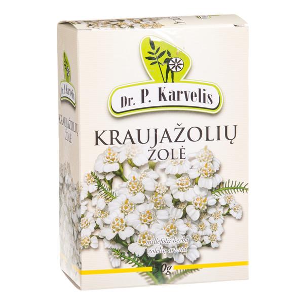 DR. P. KARVELIS KRAUJAŽOLIŲ ŽOLĖ, žolelių arbata, 50 g paveikslėlis