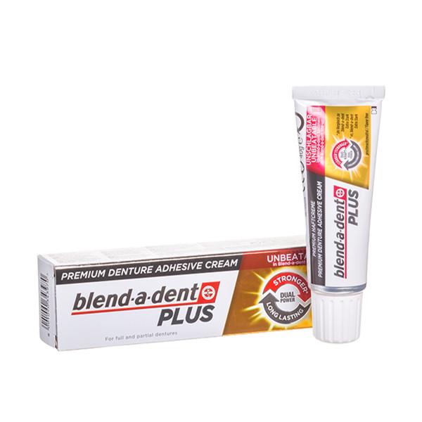 BLEND-A-DENT PLUS DUOPOWER, burnos dantų protezų lipnus kremas, 40 g  paveikslėlis