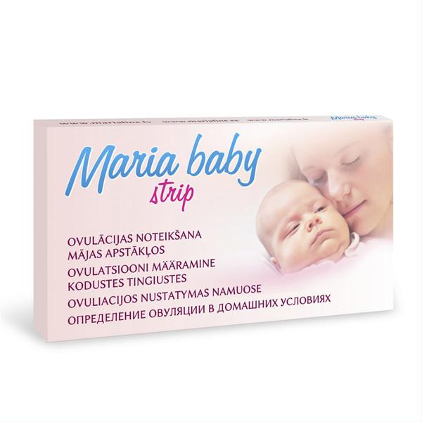 MARIA BABY STRIP, ovuliacijos nustatymo testas  paveikslėlis