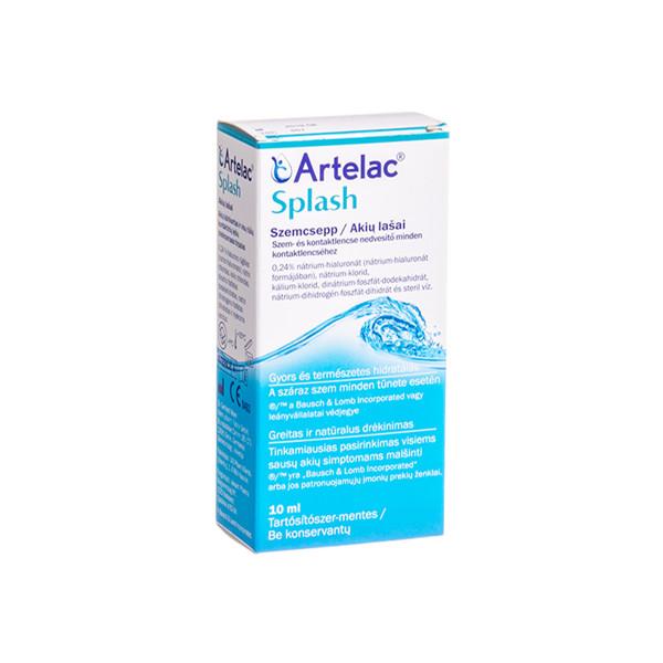 ARTELAC SPLASH, lašai akims, 10 ml paveikslėlis