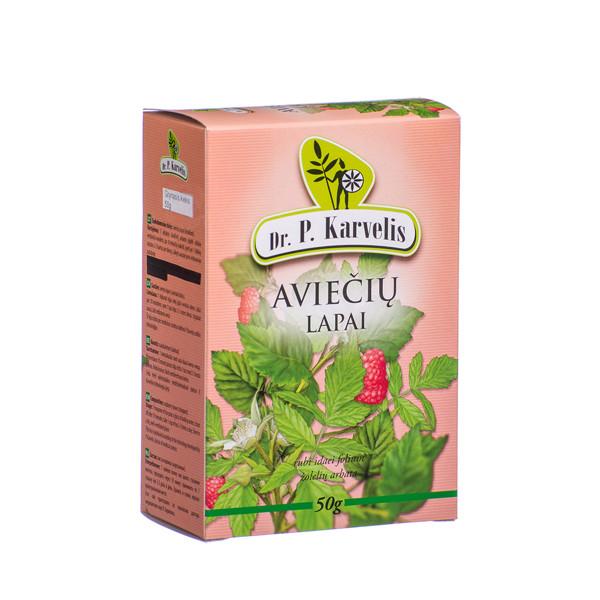 DR. P. KARVELIS AVIEČIŲ LAPAI, žolelių arbata, 50 g paveikslėlis