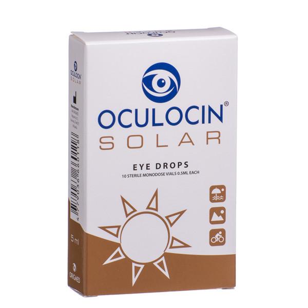 OCULOCIN SOLAR, akių lašai, 5 ml, 10 vnt. paveikslėlis