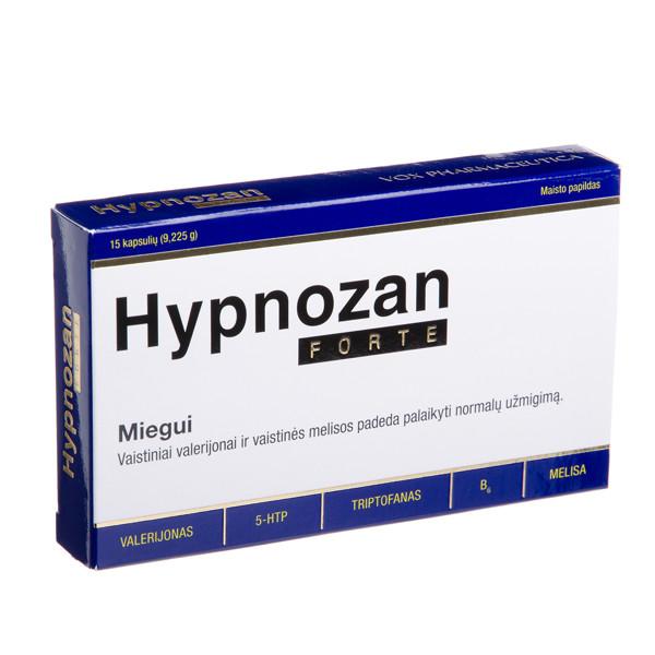 HYPNOZAN FORTE, 15 kapsulių paveikslėlis