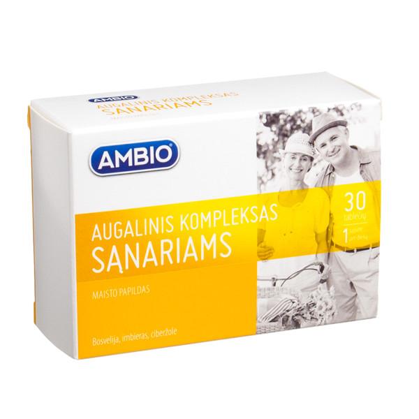 AMBIO AUGALINIS KOMPLEKSAS SĄNARIAMS, 30 tablečių paveikslėlis