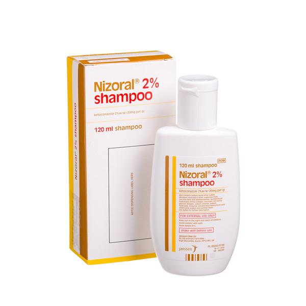 NIZORAL, 20 mg/g, šampūnas, (l.imp.), 120 ml paveikslėlis