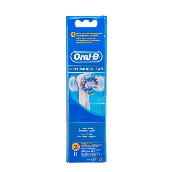 ORAL-B PRECISION CLEAN, elektrinio dantų šepetėlio galvutė, 2 vnt. paveikslėlis
