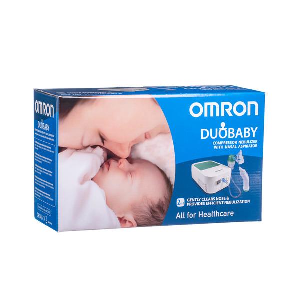 OMRON C301 DUOBABY 2IN1, kompresorinis inhaliatorius, + nosies aspiratorius (spec.kūdikiams) paveikslėlis