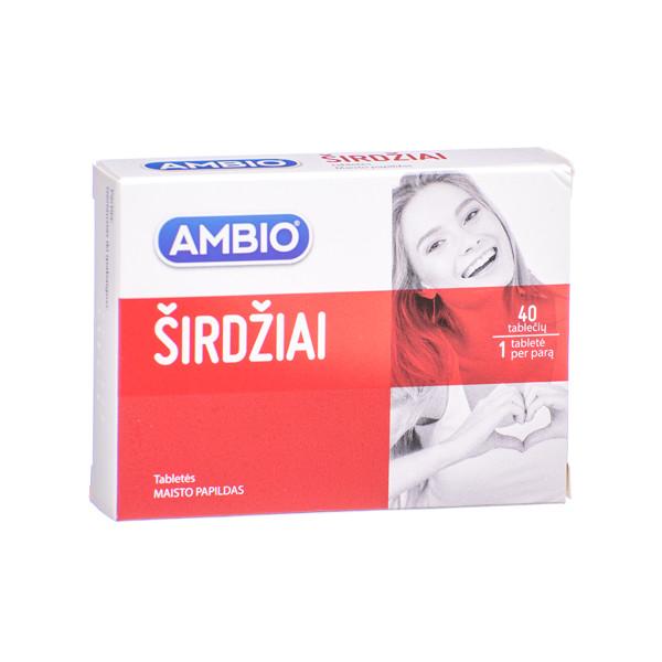 AMBIO ŠIRDŽIAI, 40 tablečių paveikslėlis