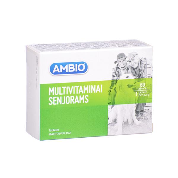 AMBIO MULTIVITAMINAI SENJORAMS, 60 tablečių paveikslėlis