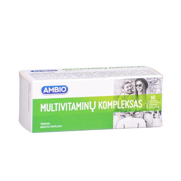 AMBIO MULTIVITAMINAI, 60 tablečių paveikslėlis