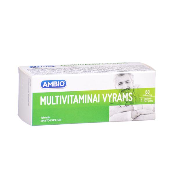 AMBIO MULTIVITAMINAI VYRAMS, 60 tablečių paveikslėlis