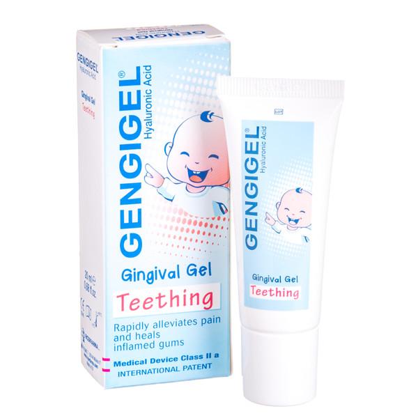GENGIGEL, dantenų gelis kūdikiams, 20 ml paveikslėlis