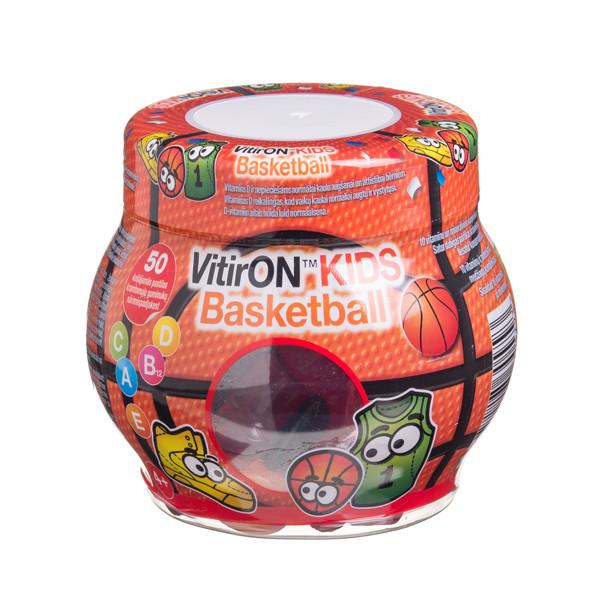 VITIRON KIDS BASKETBALL, 50 kramtomųjų guminukų paveikslėlis