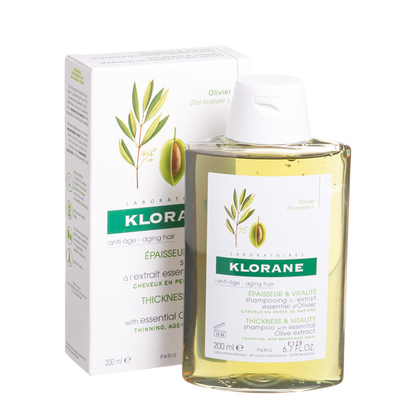 KLORANE, šampūnas su alyvuogių ekstraktu 40+, 200 ml paveikslėlis