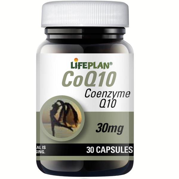 LIFEPLAN COQ10, 30 mg, kofermentas Q10, 30 kapsulių paveikslėlis