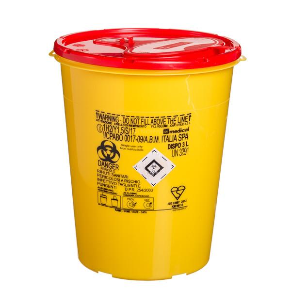 Konteineris aštrioms, pavojingoms atliekoms, 3 l paveikslėlis