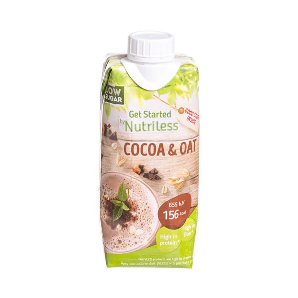 NUTRILESS, kakavos skonio avižų gėrimas, 330 ml  paveikslėlis