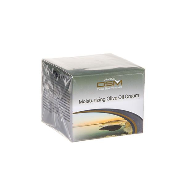 DSM, drėkinamasis kremas su alyvuogių aliejumi visų tipų odai, 50 ml, DSM127 paveikslėlis