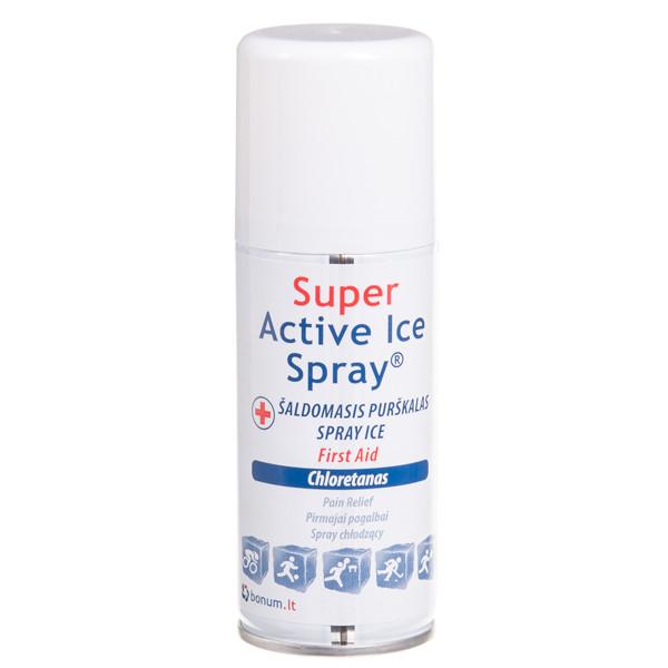 SUPER ACTIVE ICE SPRAY, šaldomasis purškalas, 100 ml paveikslėlis