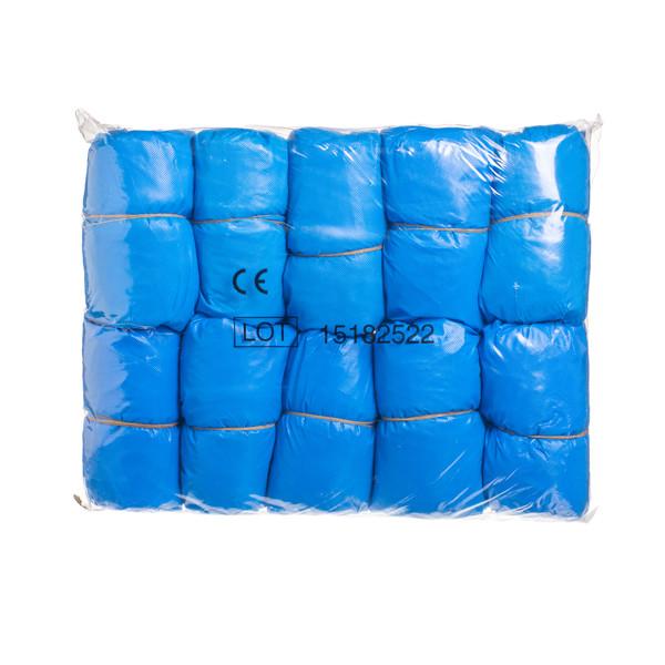 Antbačiai, plastikiniai, mėlyni, 100 vnt.  paveikslėlis