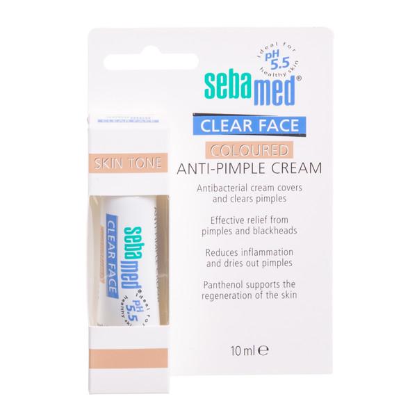 SEBAMED CLEAR FACE, maskuojamasis kremas nuo spuogų, 10 ml paveikslėlis