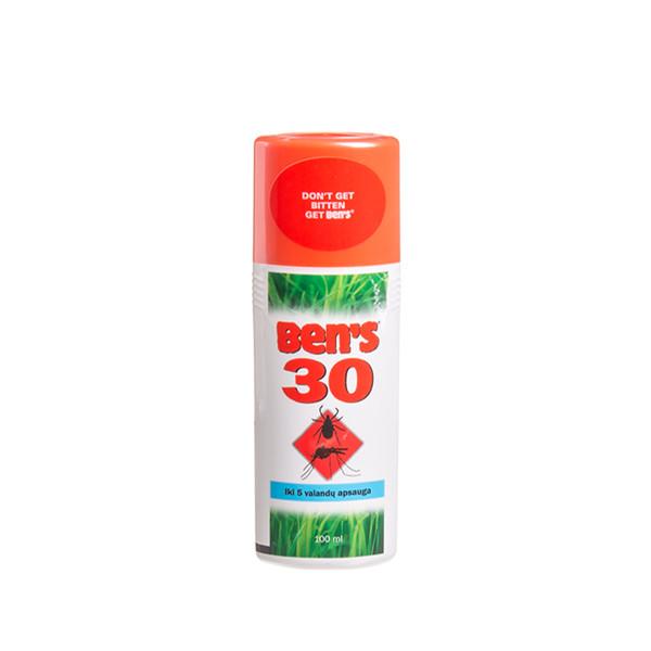 BEN'S 30, purškiamas repelentas nuo vabzdžių, 100 ml paveikslėlis