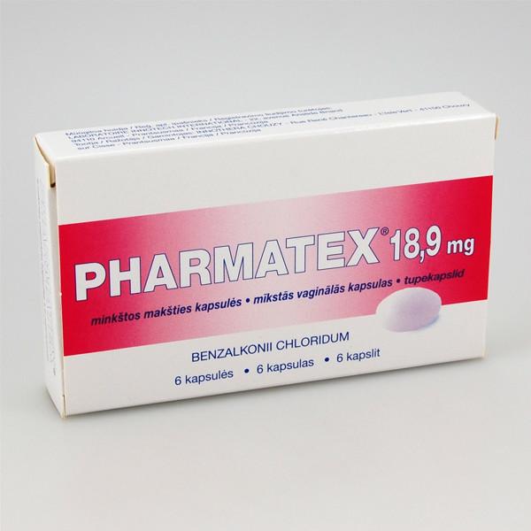 PHARMATEX, 18,9 mg, minkštos makšties kapsulės, N6  paveikslėlis