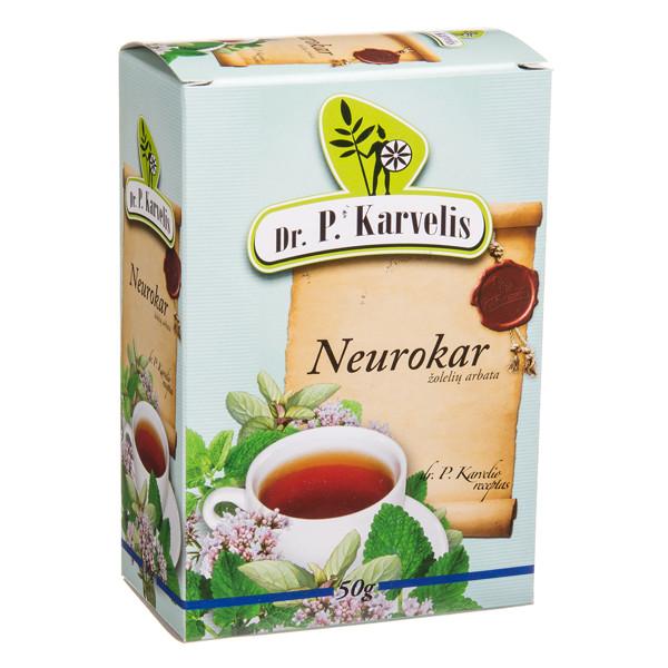 DR. P. KARVELIS NEUROKAR, žolelių arbata, 50 g paveikslėlis