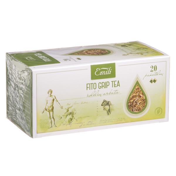 EMILI FITO GRIP TEA, žolelių arbata, 1,5 g, 20 vnt. paveikslėlis