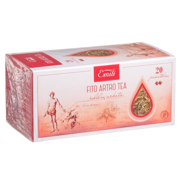 EMILI FITO ARTRO TEA, žolelių arbata, 1,5 g, 20 vnt. paveikslėlis