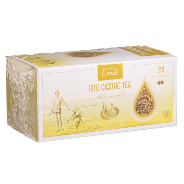 EMILI FITO GASTRO TEA, žolelių arbata, 1,5 g, 20 vnt. paveikslėlis