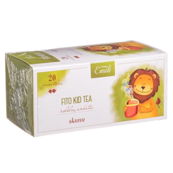 EMILI FITO KID TEA, žolelių arbata, 1,5 g, 20 vnt. paveikslėlis