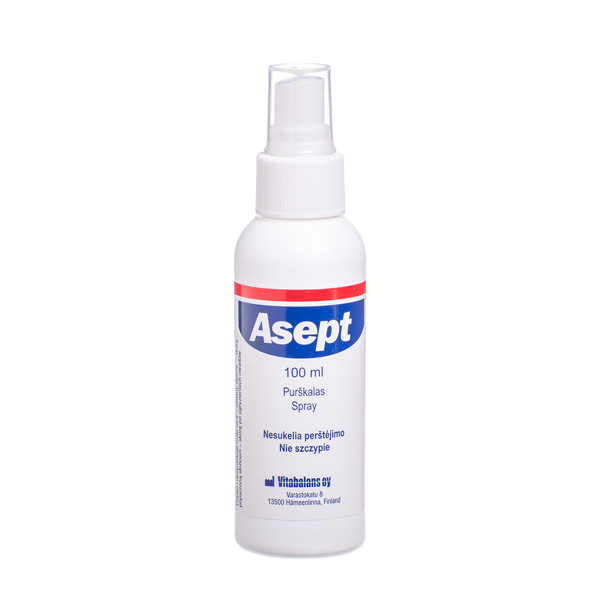 ASEPT, dezinfekcinis purškalas, 100 ml paveikslėlis