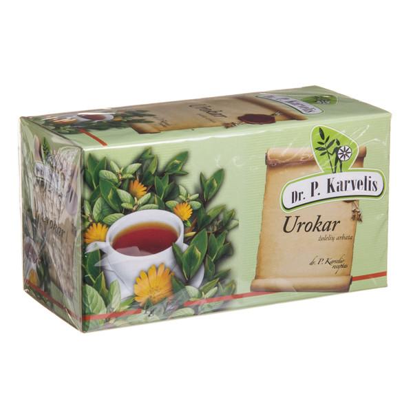 DR. P. KARVELIS UROKAR, žolelių arbata, 1 g, 25 vnt. paveikslėlis