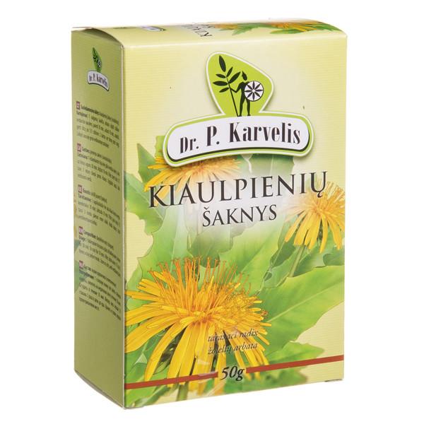 DR. P. KARVELIS KIAULPIENIŲ ŠAKNYS, žolelių arbata, 50 g paveikslėlis