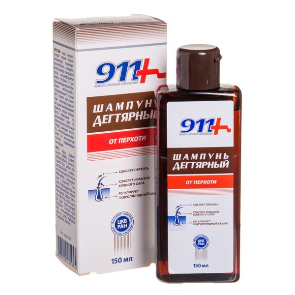 911, degutinis šampūnas nuo pleiskanų, 150 ml paveikslėlis