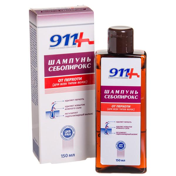 911 SEBOPIROKS, šampūnas nuo pleiskanų, 150 ml paveikslėlis